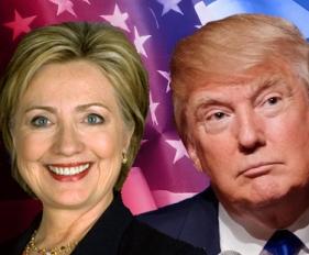 hillary clinton and donald trump OTS